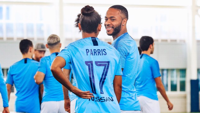 ALL FIRED UP: Nikita Parris and Raheem Sterling's goals have been key factors in our joint success this season