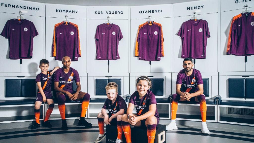 City unveil third kit