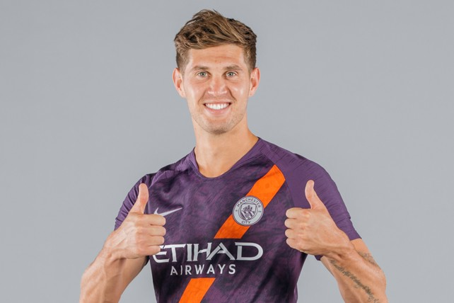 ALL SMILES  John Stones is clearly a fan of our new third kit! 1c5e8d4a0