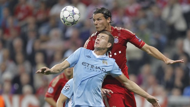 VAN BUYTEN: Belgian defender was impressive on loan at City in 2004 but spent the majority of his career at Bayern.