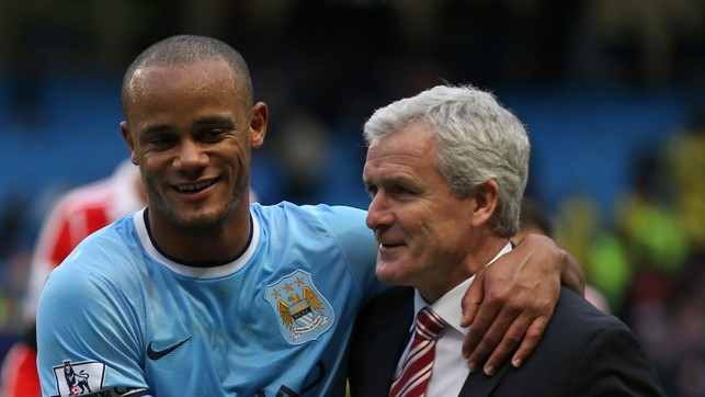 HUGHES: One of few British players to feature in the Bundesliga - as a manager, he took charge of City in 2008.