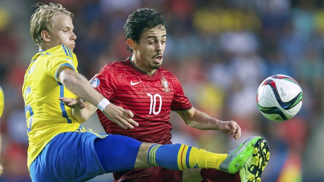 More action from the 2015 U21 final with Sweden