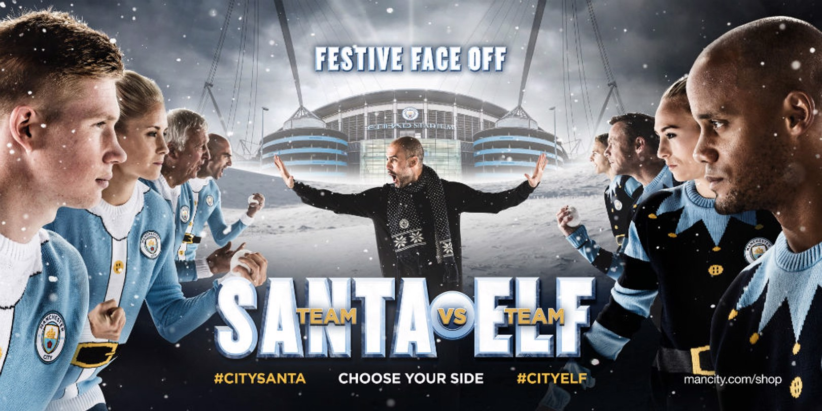 FACE-OFF: Pick your team this Christmas.