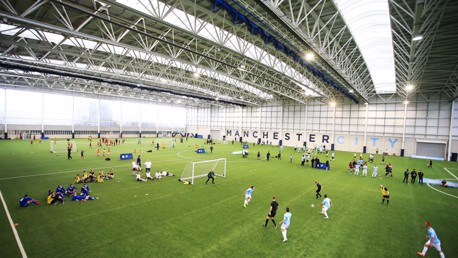 The CFA indoor pitch