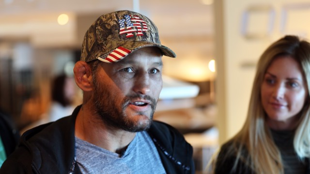 CLOSE UP: Dan Henderson with his wife Rachel Malter