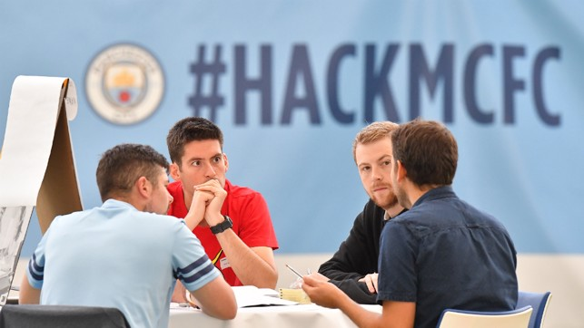 DEBUT: City were the first football club to host a football data hackathon.