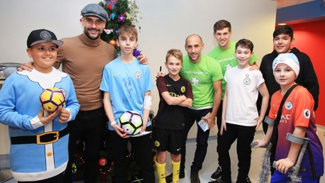 HEADGEAR: Do you prefer Pep's flat-cap or the beanies and snapbacks of the young fans?