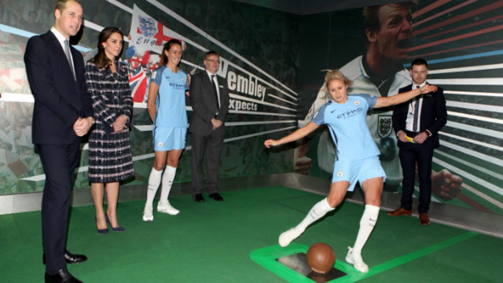 MCWFC and Academy stars meet royal couple