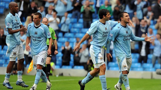 THE BOJ: Valeri Bojinov scored an absolute screamer in a Thomas Cup Trophy victory over Milan in 2008.
