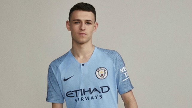 Rising City star Phil Foden