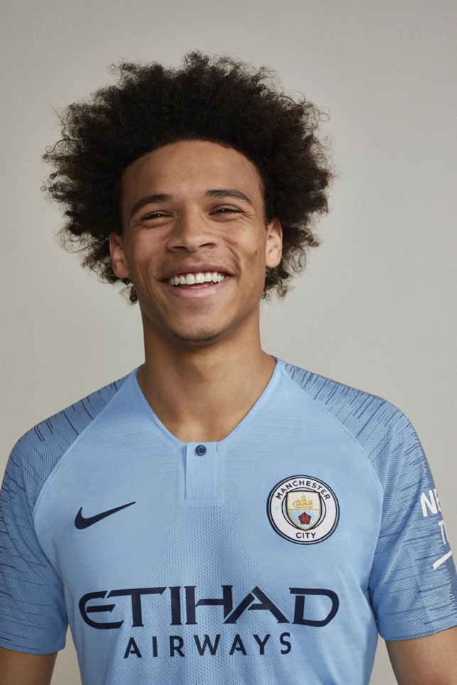 Leroy Sane likes the new kit!