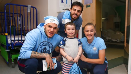 Visita ao Hospital Royal Manchester
