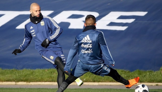 JAV IT! Former Liverpool and Barcelona defender/midfielder Javier Mascherano in action
