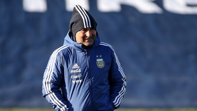 WATCHING BRIEF: Argentina boss Jorge Sampaoli keeps a close eye on his troops
