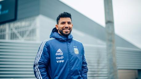 CITY SMILE: Sergio spots our camera