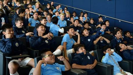 LEARNING: City Football Language School develops both communication and football skills.