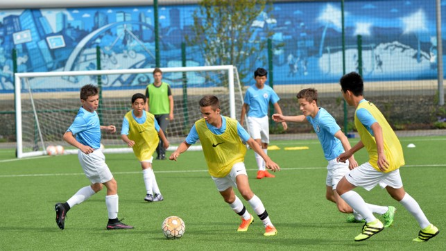SKILL SCHOOL: Youngsters will play in the Club's state-of-the-art facilities.