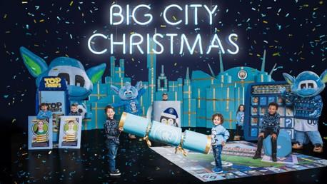 ¡Gabriel lanza la campaña de Navidad del City!