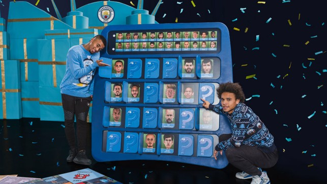 TEAM MATES: Gabriel and Leroy find their Guess Who likeness.