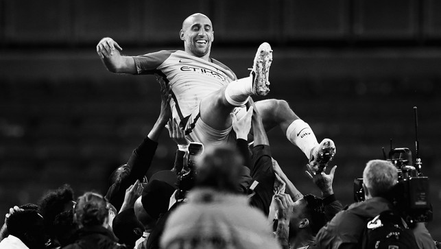 LEGEND:  The one and only Pablo Zabaleta