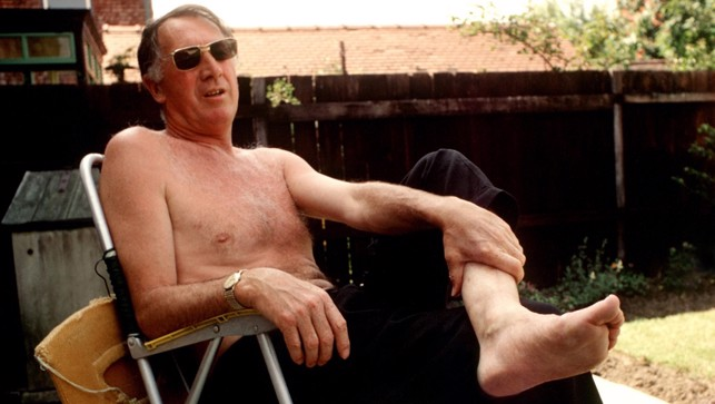 Relaxing in his back garden, Joe takes it easy in pre-season