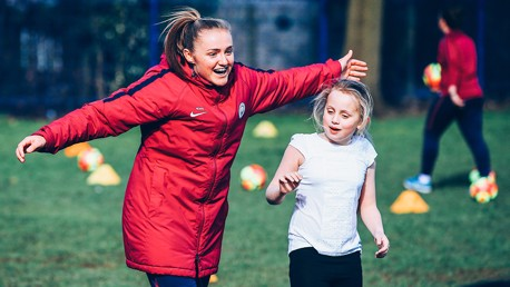 SAME GOALS: Manchester City launch #SameGoals to encourage girls' participation in football