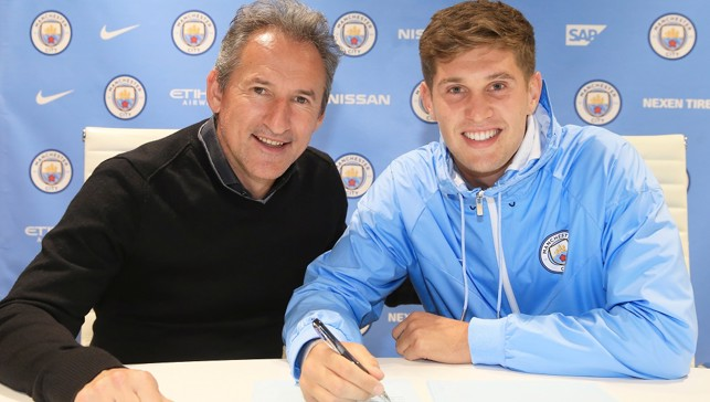 2016: The smile says it all - John Stones pens a dream move to City