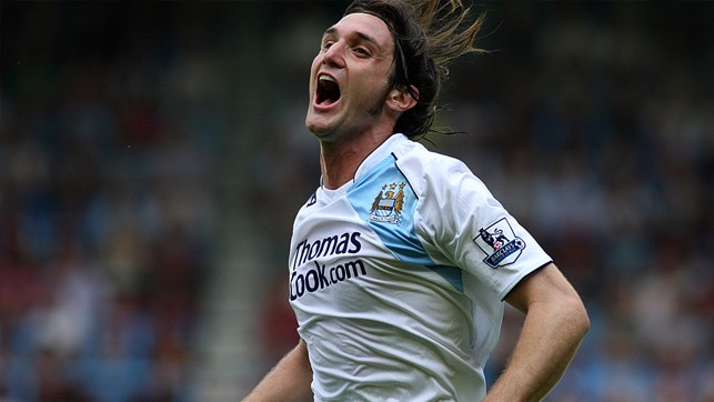 BIANCHI V WEST HAM: A low shot that sealed City's win