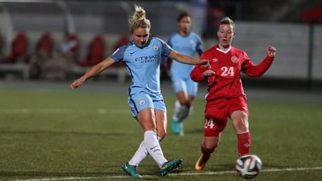 Zvezda v Manchester City Women: Highlights