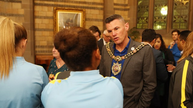 QUESTION TIME: The Lord Mayor of Manchester, Councillor Carl Austin-Behan asks about the season