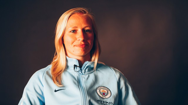 QUESTION TIME: The striker discusses her move with CityTV