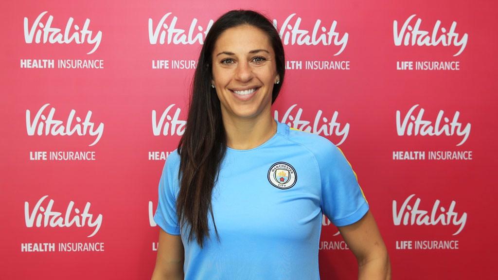 Man City Women sign Carli Lloyd