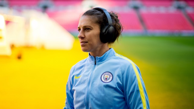 FAMILIAR: The midfielder returned to the place where she bagged a brace in an Olympic final