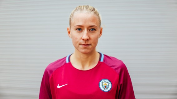 JANUARY BLUE: The new recruit is looking forward to meeting her new teammates and fans in the New Year