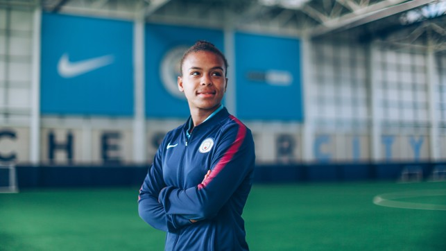 LOOKING AHEAD: Nikita Parris believes City can better last season's achievement