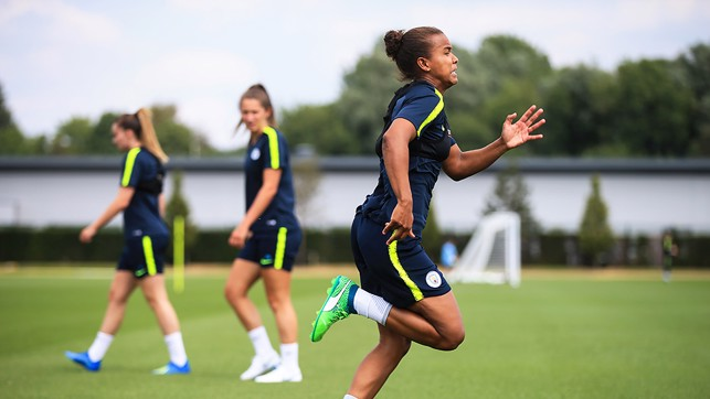 LIL KEETS: Nikita Parris gave her all!