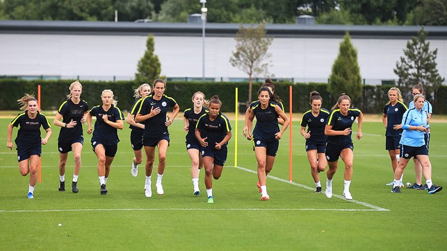 READY...GO: There's a competitive spirit in the squad