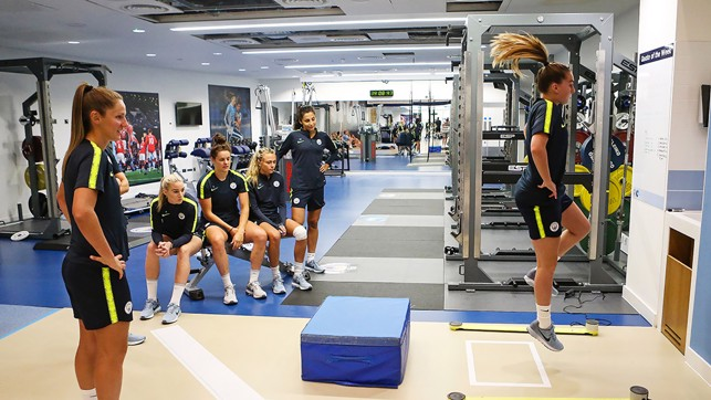 HAIR WE GO: Fitness comes first on day one of pre-season