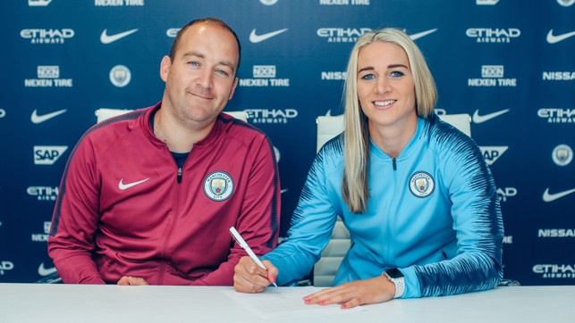 CONTRACT: Putting pen to paper