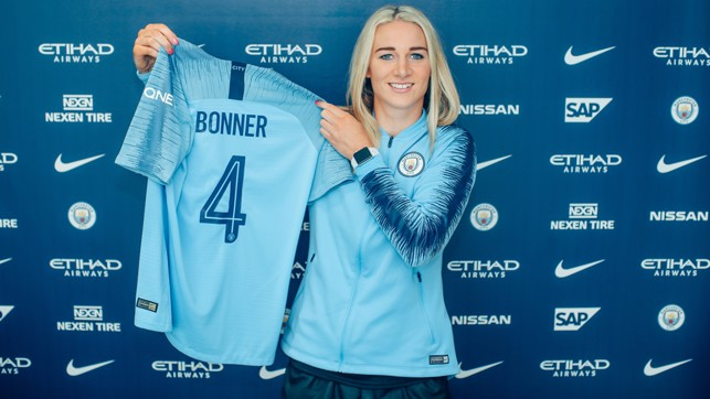 FANTASTIC FOUR: Bonner will wear the number 4 shirt