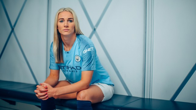 READY: Bonner says joining City will take her to new heights