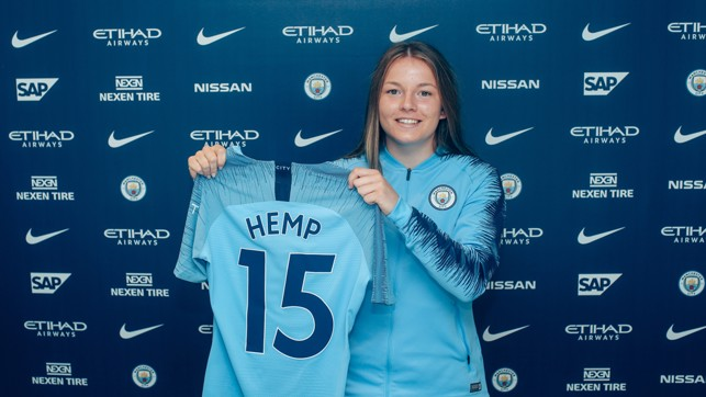 NEW NUMBER: Lauren will wear the Number 15.
