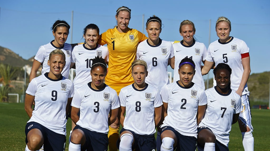 CAPTAIN: Steph Houghton captains England for the first time in a draw against Norway back in 2014.