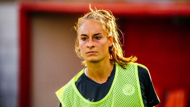 FOCUS: Tessa Wullaert is ready to face Atletico.