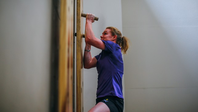 ONLY WAY IS UP: Extreme upper body strength from Aoife Mannion