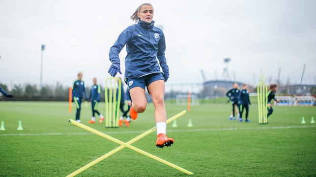 FLYING HIGH: December's FA WSL Player of the Month Georgia Stanway in full flight