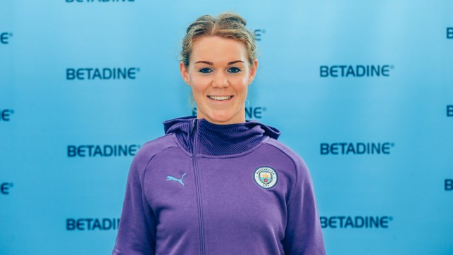 HERITAGE: Mannion believes her background within Gaelic football prepared her physically and mentally for top flight women's football