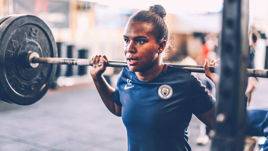 Nikita Parris: Smashing the 'glass ceiling'