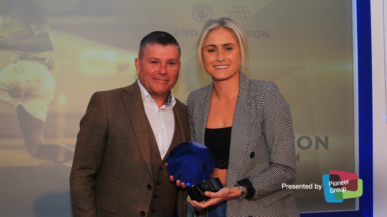 STAR SKIPPER: Steph Houghton was voted by the fans as the Club's Player of the Season