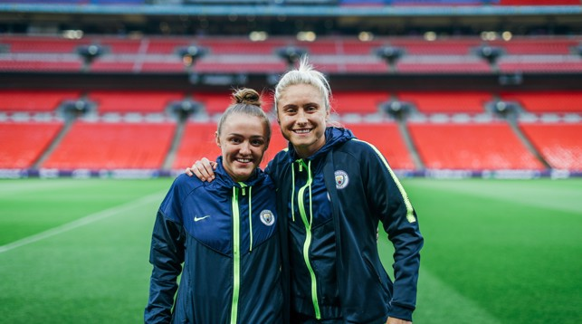 STAGE: Georgia and Steph deserve to be on the biggest stage in football - as do all our team